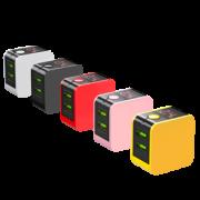 HOLILA 2.4A数据线 Lightning/Type-C/Micro-USB可选 白色1米 1.9元包邮(需用券)