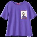 Lagogo 拉谷谷 HCTT418Y01 女士印花短袖T恤 40元包邮¥40