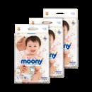 moony 尤妮佳 Natural 皇家系列 婴儿纸尿裤 L54*3 335.15元¥335