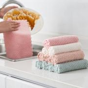 【三条装】五金冠大珊瑚绒洗碗布¥2
