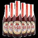 Fruli 芙力 草莓味/荔枝味 小麦果味啤酒 330ml*6瓶 116元包邮(需用券)¥116