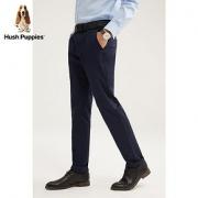 Hush Puppies暇步士男装2020新款男士春季商务休闲裤子 PQ-20120D