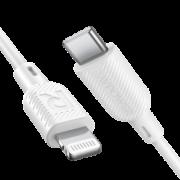 RAVPower 睿能宝 CB054 苹果 MFi认证 Type-C to Lightning数据线 1米 29.9元(需用券)¥30