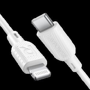 RAVPower 睿能宝 CB054 苹果 MFi认证 Type-C to Lightning数据线 1米 29.9元(需用券)