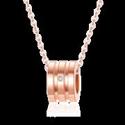 500元满减 鸣钻国际 小蛮腰钻石项链吊坠 券后¥99¥599