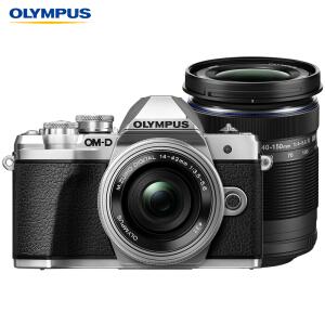 OLYMPUS 奥林巴斯 E-M10 MarkIII 微单相机 双镜头套机(14-42mm+40-150mm)