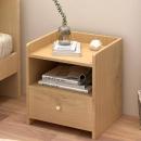 PLUS会员:木以成居 LY-3066 原木色储物床头柜65元