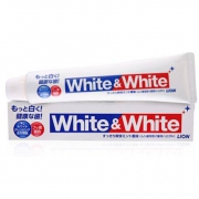 LION狮王 White&White 美白牙膏 150g*3件