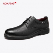 AOKANG 奥康 173211076 男士系带皮鞋116.3元包邮(需用券)
