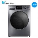 历史低价: LittleSwan 小天鹅 TG80V86WMDY5 变频 滚筒洗衣机 8公斤2099元包邮(到货联系客服退运费)