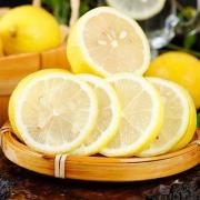 柠檬 新鲜皮薄 一级安岳水果 皮薄多汁 黄柠檬 6斤 整箱