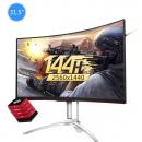 AOC Agon AG322QC4 32英寸2K显示器(144Hz/HDR400/曲面屏)