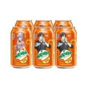 Mirinda 美年达 橙味 汽水 碳酸饮料 330ml*6听