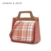 CHARLES&KEITH CK2-50700866 女士单肩编织手提包