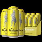 德国进口 Wurenbacher瓦伦丁拉格啤酒 500ml 24听 99元