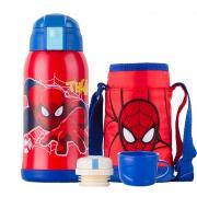 Disney迪士尼 红色蜘蛛侠儿童保温杯 600ml*2件