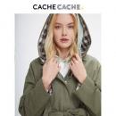 CacheCache 捉迷藏 9803001576 女士工装连帽外套108元包邮