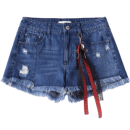Lagogo 拉谷谷 HCNN137Q64 女士牛仔短裤 69元¥69