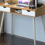 木以成居 实木 电脑桌159.5元