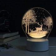 SDIN 丛林鹿3D立体视觉台灯