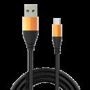 JAMES DONKEY 贝戋马户 362尾巴数据线 Type-C/Micro-USB 3A 1米 7.9元包邮(需用券)¥8