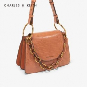 CHARLES&KEITH CK2-20780912 女士翻盖单肩包