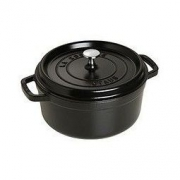 STAUB 圆形铸铁炖锅 24cm 黑色891.62元