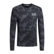 EA7 EMPORIO ARMANI 阿玛尼奢侈品男士针织T恤衫