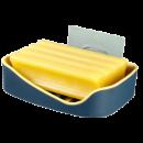 樱尚居   免打孔壁挂式皂盒 13*10*3.5cm 单只装 1.9元包邮(需用券)¥2