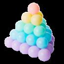 AOLE-HW 澳乐 婴幼儿海洋球 30个装 3.9元包邮(需用券)¥4