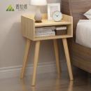 PULATA 普拉塔 PLT105305 实木腿床头柜44.5元(1件5折)
