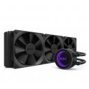 NZXT 恩杰 Kraken X72 360mm一体式水冷散热器(可调色RGB水冷头/静音/耐久/散热/360mm冷排/三风扇)