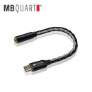MBQUART HIFI 解码耳放 Type-c转接线 49元包邮(需用券)¥49