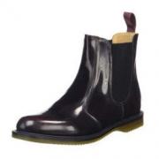 Dr.Martens Flora Leather Chelsea 女士短靴