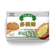 SUKI 多美鲜 淡味黄油块 200g282.4元(21.72元/件)