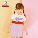 SNOOPY 史努比 童装女童连衣裙 39.9元包邮(需用券)¥40