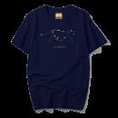 MENHOLEBO 名皇猎豹 19AW-S010 男士短袖T恤 8.9元包邮(需用券)¥9