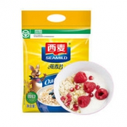 SEAMILD 西麦 即食纯燕麦片 1980g买一送一共两包 *2件39.9元(合19.95元/件)