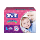Anerle 安儿乐 干爽超薄婴儿纸尿裤 L66片 *2件 93.8元包邮(合46.9元/件)¥67