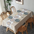 怡家乐 长方形PVC餐桌布  防水防油14.9元包邮