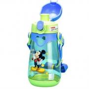 Disney迪士尼 儿童便携塑料水壶 吸管杯 550ml*2件