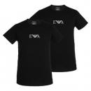 Emporio Armani阿玛尼男士LOGO圆领短袖t恤两件套 111267249元