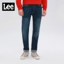 Lee男士中腰直脚猫须牛仔裤 L12726Z021HV