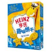 Heinz 亨氏 宝宝辅食 儿童零食 趣味饼干 海洋动物 *14件78.95元(合5.64元/件)