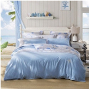 LOVO家纺 床上用品四件套水洗棉全棉纯棉床上套件床品 时尚皇冠 1.2米床(被套150x215cm)