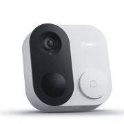 360 1C智能可视门铃 经典款白色