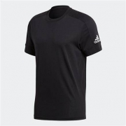 5日10点:adidas 阿迪达斯 M ID Stadium T 男装运动型格圆领套头短袖T恤 CG2097
