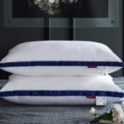 SHEEP 小绵羊 纯棉羽丝绒护颈枕头 48*74cm(单边低枕、重约760g) 29元包邮(双重优惠)