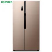 Ronshen 容声 BCD-650WD12HPA 对开门冰箱 650L3559元包邮(双重优惠)