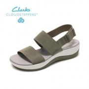 Clarks 261256034 女士休闲搭扣平底鞋